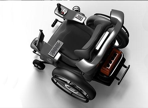 电动轮椅推杆器永磁直流汽车及齿轮箱方案