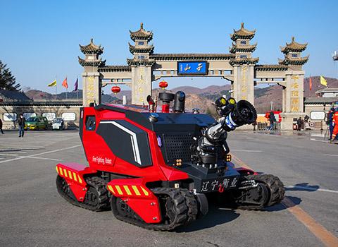 全地形消防机器人